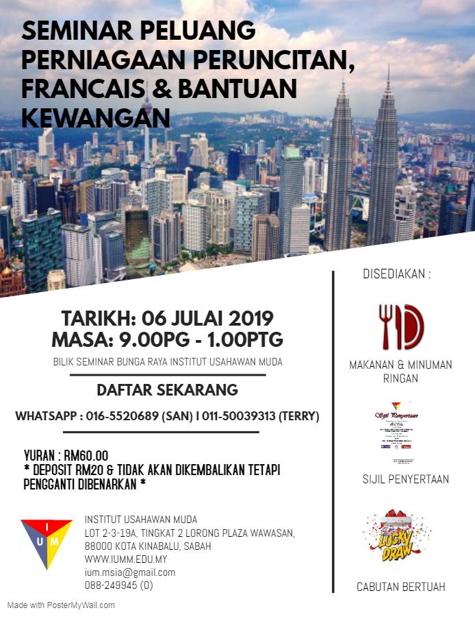 seminar perniagaan